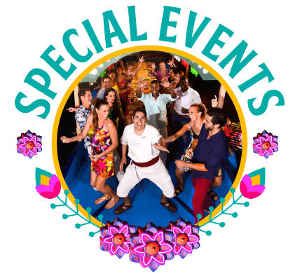Special Events at Xoximilco Cancún