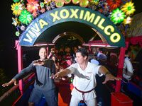 Xoximilco Cancun is the perfect escape to enjoy a Mexican party!